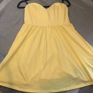 Strapless Fit & Flare Mini Dress